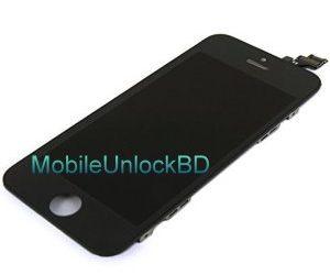 Buy iPhone 5 Black Full LCD Display + Touch Screen Digitizer Mobile Phone Repair Part Replacement in Bangladesh
